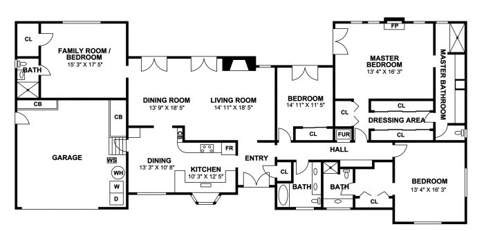 Santa Barbara, floor plans