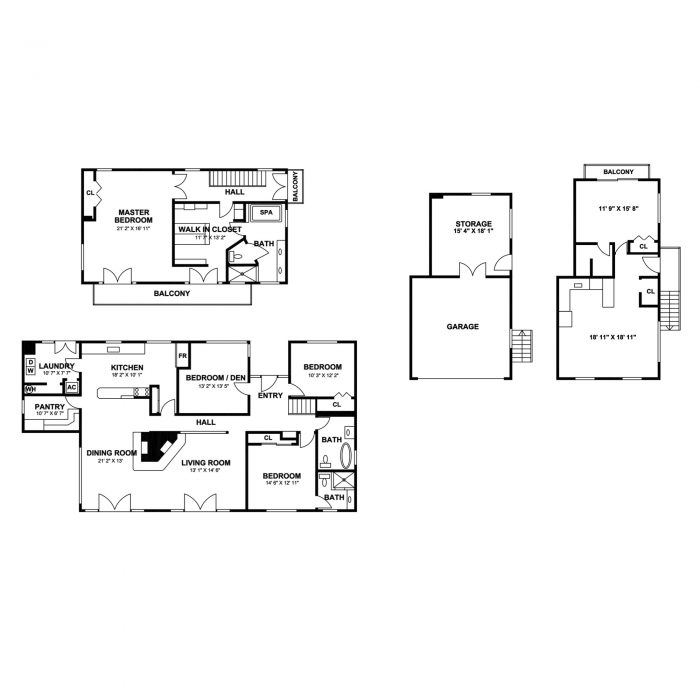 floor plan for montecito by list it marketing santa barbara real estate